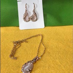 🌺CZ Earrings & Necklace 🌺